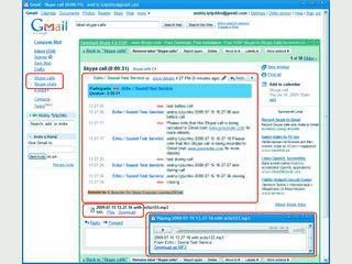 Aufnahme und Speichern der Skype-Telefonate und Chats in Googlemail