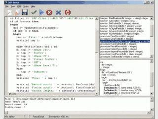 Erstellt kleine Programme zur Bearbeitung von DBF-Dateien.