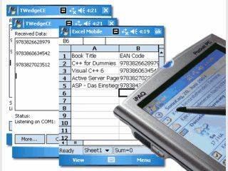 Mobile Datenerfassungs-Software für Windows CE, Pocket-PC, Windows Mobile