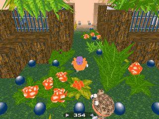 Pacman Clone der in 3D gespielt wird.