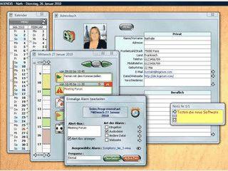 Einfacher und nützlicher Terminkalender mit Adressverwaltung.