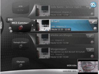 Windows Media Center Plug-in für TV-Aufnahmen und Programmempfehlungen