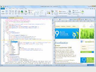 Sehr ausgereifter Editor für moderne Webseiten, Templates und Scriptsprachen.