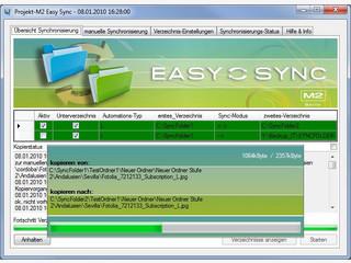 Tool zur einfachen Synchronisation von Daten auf unterschiedlichen Datenträgern.