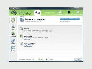 VIRUSfighter Server schützt Ihren Server gegen Viren