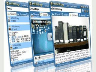 Desktopsuche in Wörterbüchern, Videoplattformen usw.