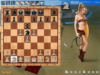 Schachspiel in dem die Figuren durch Amazonen ersetzt werden.