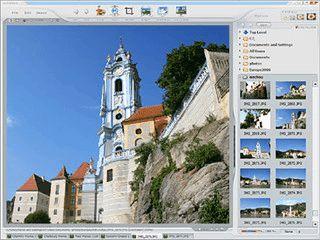 Grafikbetrachter für zahlreiche Formate mit anpassbarer Oberfläche.
