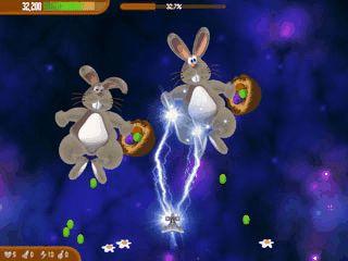Retten Sie das Osterfest in der fernen Galaxie der Chicken Invaders.