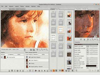 Sehr gute Creativ-Software um Bilder in digitale Kunstwerke zu verwandeln.