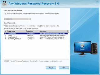 Auch ohne Passwort an ein Passwortgeschütztes Windows-System anmelden.