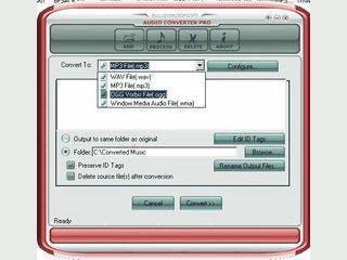 Einfachste Konvertierung voin Audio Dateien direkt aus dem Explorer.