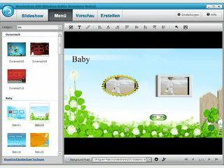 Filme, Bilder und Musik in Filmreife Slideshows auf DVD erzeugen.