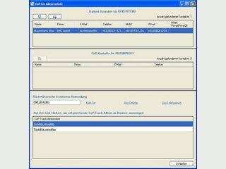 Anrufmonitor und Wählfunktion für MS Outlook.