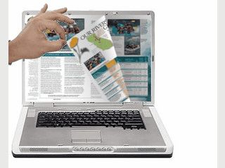 Software mit der Blätterbare Onlinekataloge erstellt werden können.