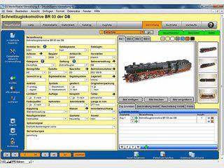 Das Verwaltungsprogramm für Ihre Modellbahnsammlung