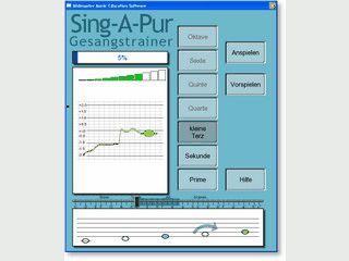 Software für Sänger/innen zum verbessern der Innotation.