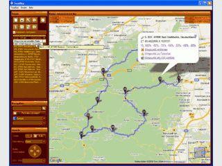 Routenerstellung, Routenberechnung, Routenumkehrung, Einblendung OVI