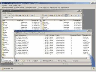 Schneller Client für FTP, SFTP und FTPS im Windows Explorer Stil.