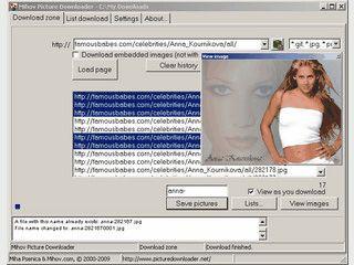 Automatischer Download von allen Bildern einer Webseite.
