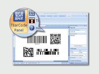 MS  Word Add-In um Barcodes in Dokumenten zu verwenden.