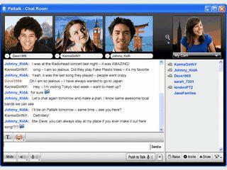 Instant Messenger für verschiedene Dienste, Optional auch mit Video.