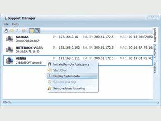 Remotesoftware für den technischen Support.
