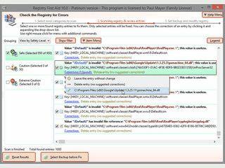 Reinigt Ihre Registry um das System schneller zu machen und Crashs zu verhindern