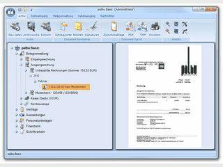 Papierlose Buchhaltungs- und Archivierungslösung für kleine Unternehmen.