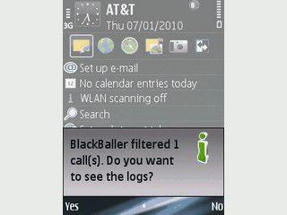 Automatische Reaktion auf Anrufe, SMS und MMS