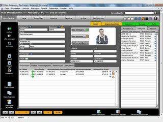 Adressverwaltung und Rechnungsprogramm mit Internetanbindung.