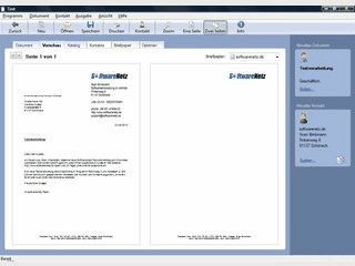 Einfache anwenderfreundliche Textverarbeitung mit integrierter Rechtschreibhilfe