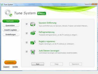Schutz gegen Adware, Spyware usw., sowie Systemoptimierung in Einem