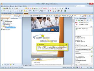 PDF-basiertes Dokumentenmanagement inkl. Scanfunktion mit Texterkennung