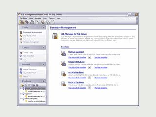 SQL Studio ist ein Tool um SQL Server zu Administrieren.