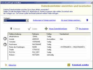 DatenbankMailer zum versenden von Serienmails aus einer Datenbank.