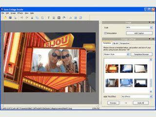 Fügt ein eigenes Bild in Bildvorlagen wie Rahmen, Zeitungen, Monitore usw. ein