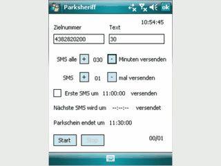 Parkscheine für handyparken.at per SMS bestellen.