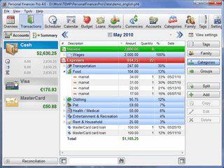 Finanzmanager für die Budgetverfolgung unterwegs