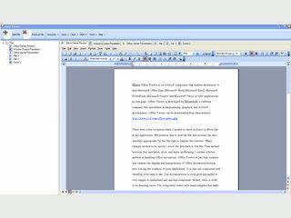 ActiveX Control das Ihnen einen Container zur Anzeige von MS Word Dateien bietet