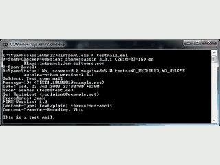 Leistungsfähiger Spamfilter, der in MTAs integriert werden kann