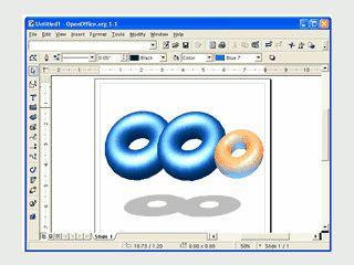 Komplettes Office Paket basierend auf OpenSource von SUNs StarOffice