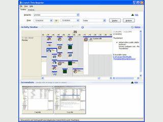 Erstellt automatisch Screenshots von den Aktivitäten.