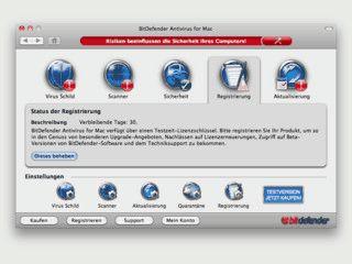 Zuverlässiger Schutz Ihrer wertvollen Dateien und Dokumente gegen Mac-Viren