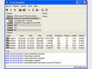 Speichert Videos von allen Aktivitäten auf dem Desktop.
