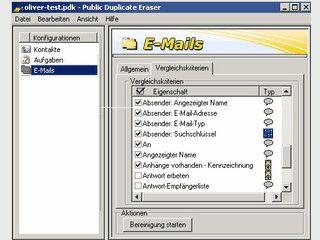 Löscht doppelte Kontakte, Aufgaben, Kalender und Email in Outlook und Exchange