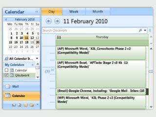 Automatische Timetracking-Software deren Daten in MS Outlook übertragen werden