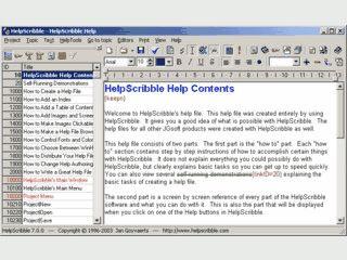 Komplettes Entwicklungs-Tool für Windows Hilfedateien im HLP und CHM Format.