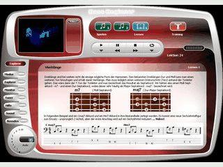 Multimediale Software zum Erlernen des E-Bass für Anfänger und Umsteiger.