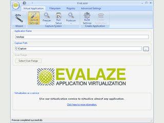 Softwarevirtualisierung um Anwendungen in eine Sandbox zu verschieben